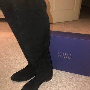 STUART WEITZMAN SIZE 9 OVER THE KNEE BOOTS
